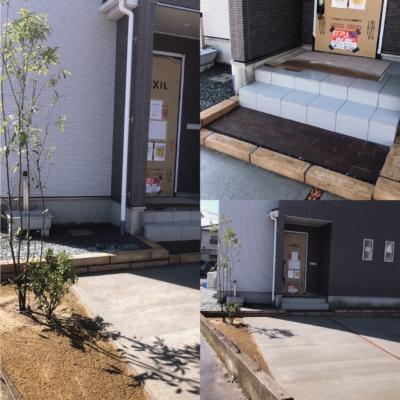 低予算 長野市エクステリア お庭工事100万円以内コース