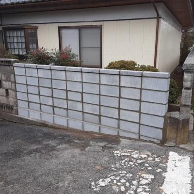 長野市 Y様邸 ブロック塀リフォーム
