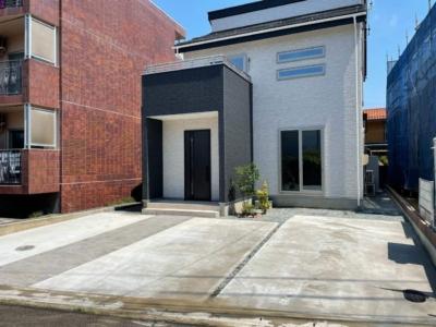 駐車スペース土間コンクリート 玄関アプローチ